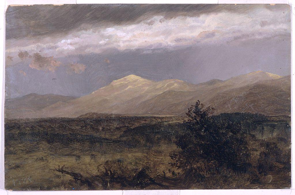 Catskills At Sunset Frederic Edwin Church 1882 Oil Paint On