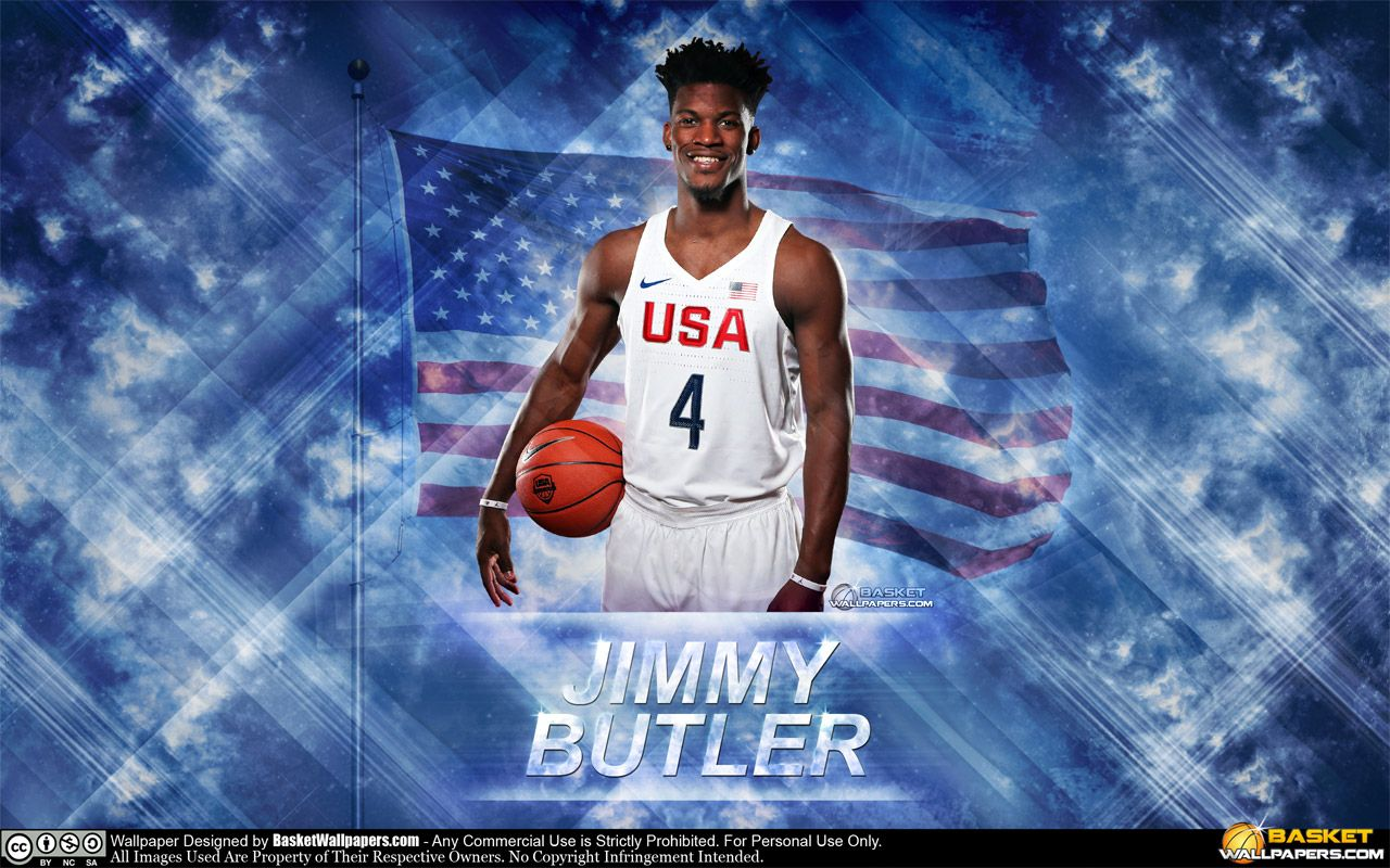 The Third And Last For Today Is Wallpaper Of Jimmy Butler In Usa Olympics Team Jersey Download Full Size At Wallpaper Nba Wallpapers Kevin Durant Wallpapers