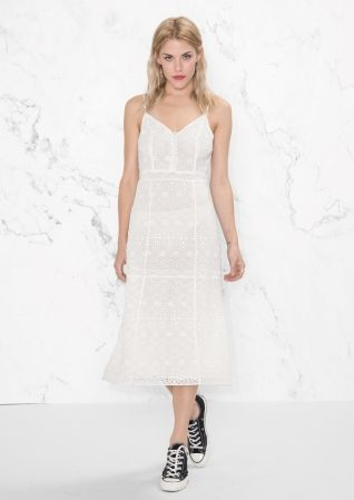 Other Stories A Line Dress Dresses Little White Dresses White Dress
