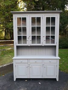 Amish Built Country Hutch