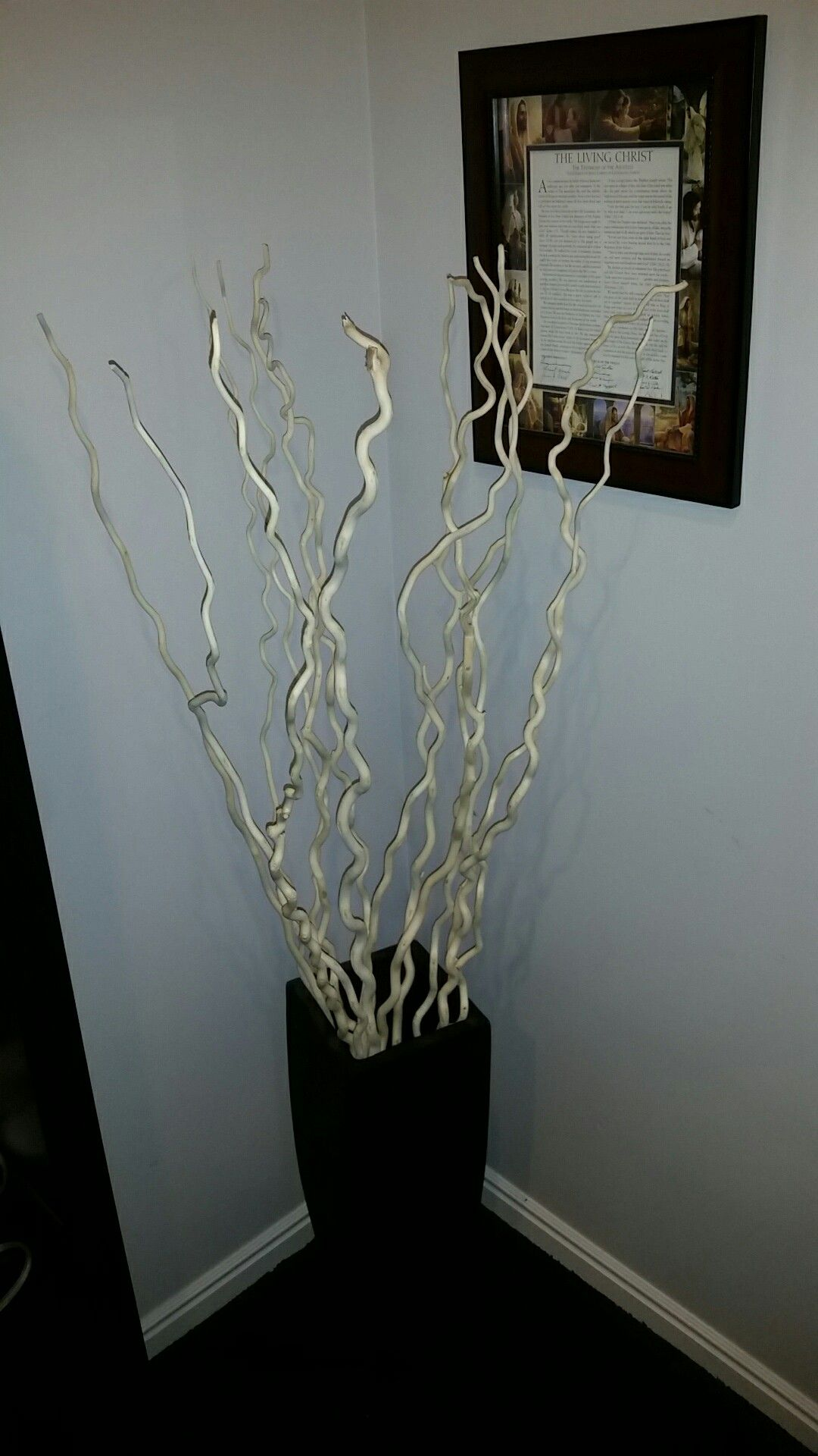Decorative Kuwa Branches Bleached Tree Branch Decor Branch Decor Vase With Branches