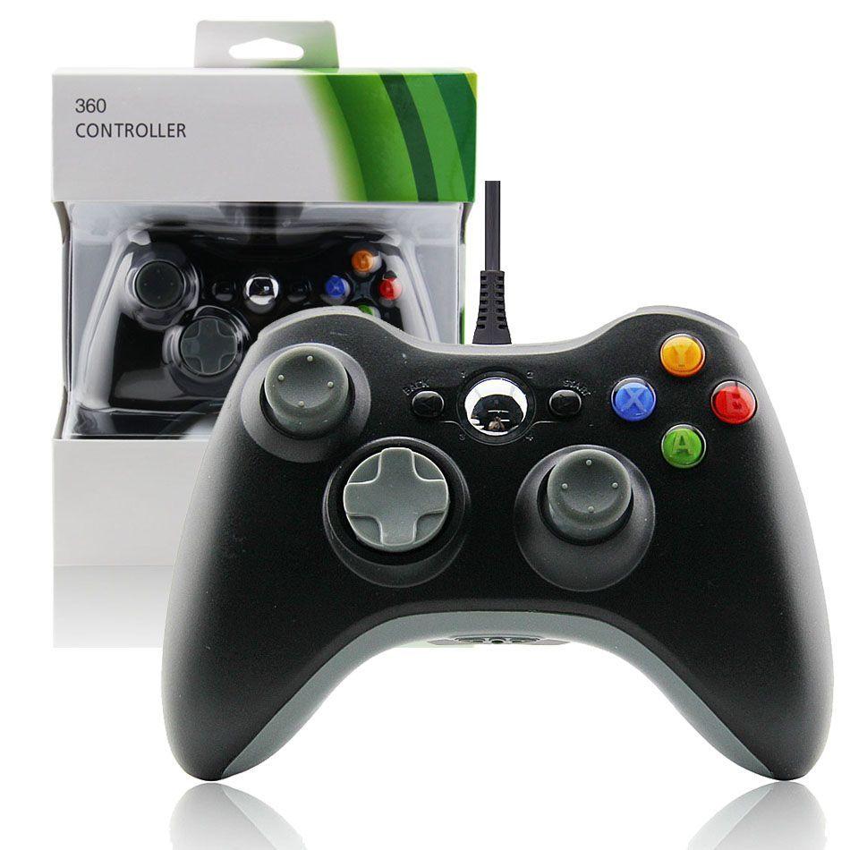 Xbox 360 Slim Wired Controller (Black) XBOX 360 Fat Joypad | XBOX ...