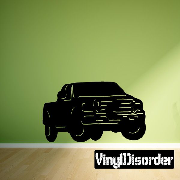 Ford f-250 f-350 Truck Wall Decal - Vinyl Decal - Car Decal & Ford f-250 f-350 Truck Wall Decal - Vinyl Decal - Car Decal - 004 ...