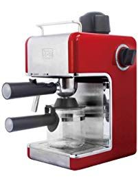 Bene Casa 4Cup Espresso Maker with Frother Latte