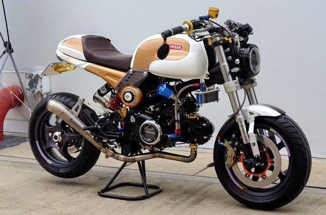 racing caf honda msx 125 special tuning bikers k. Black Bedroom Furniture Sets. Home Design Ideas
