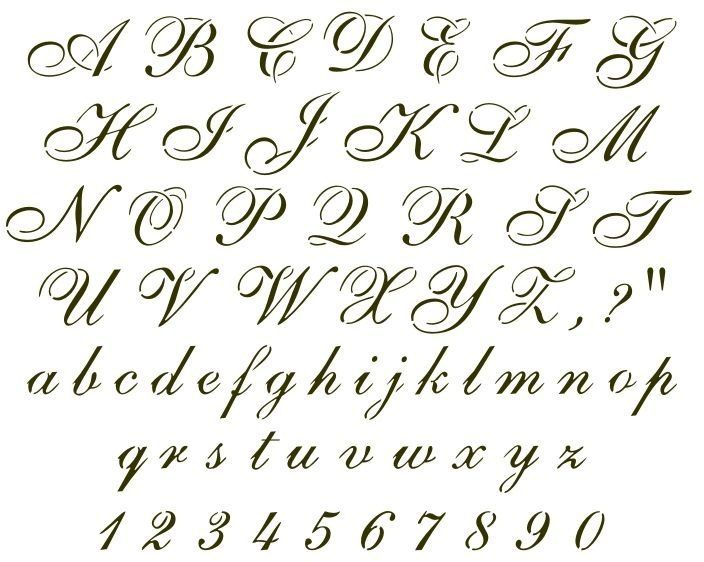 Cursive Alphabet Letters Designs Theveliger B Cursive Cursive