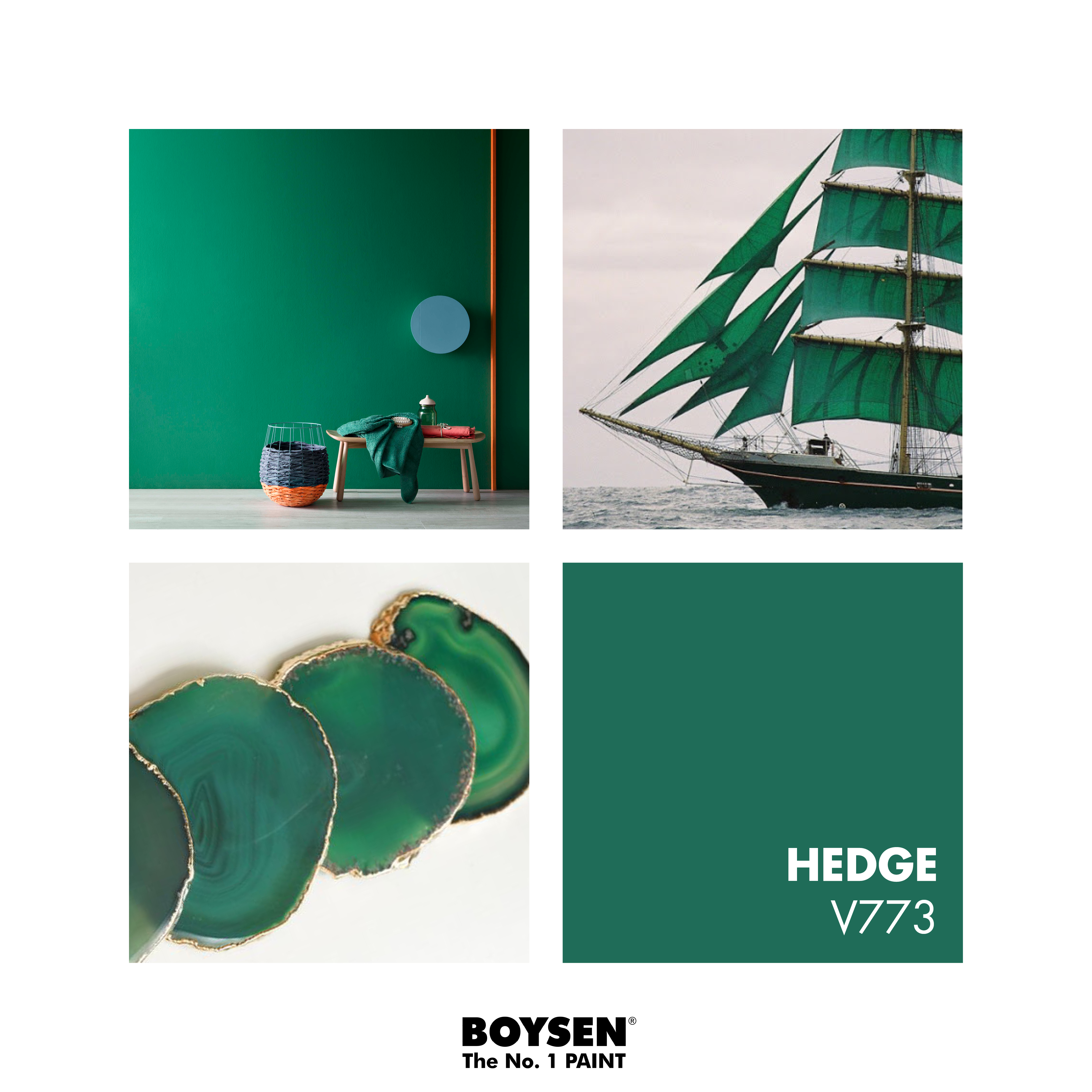 Featured Color Virtuoso V773 Hedge #Boysenpaints #Boysen