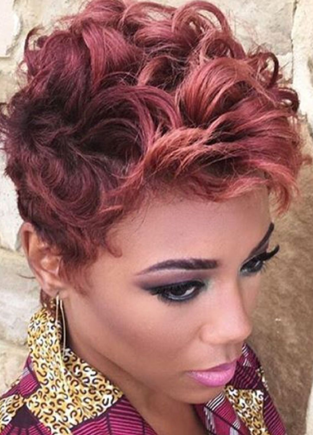 Love this color fierce hair pinterest short hair styles hair