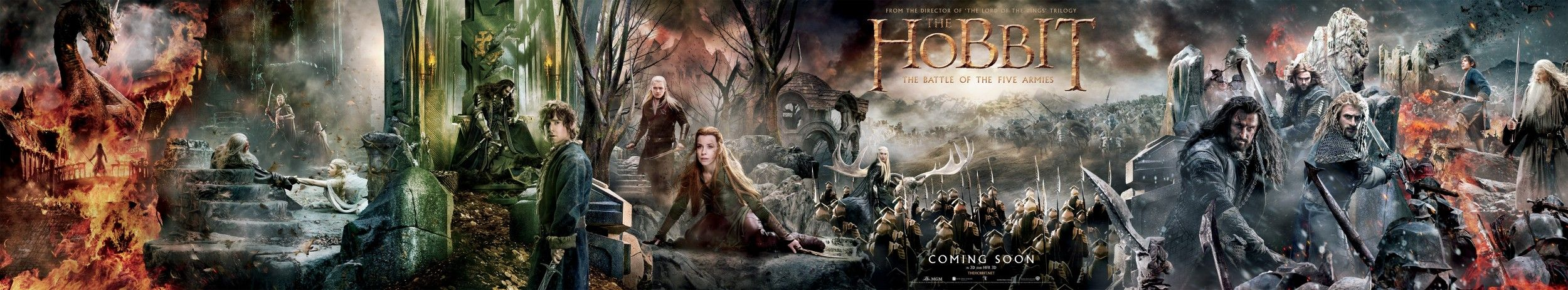 The Hobbit: The Battle of the Five Armies - Full Poster