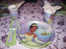 This past weekend was the Princess and the Frog Party Idecorated for 4 year old Cadence and it turned out great! As you remember, awhile ag...