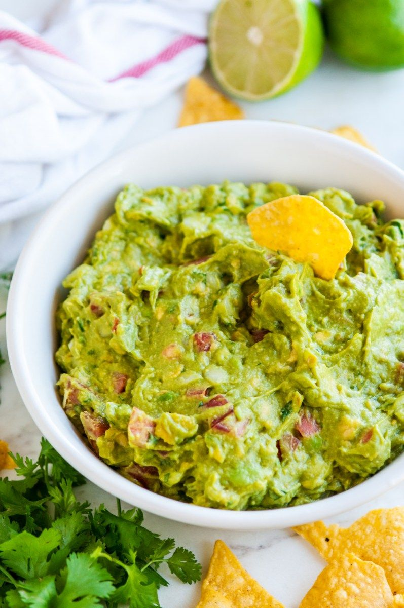 Can You Substitute Lime For Lemon In Guacamole Quick And Easy Classic Guacamole Recipe Food Processor Recipes Quick Guacamole Recipe Guacamole Recipe