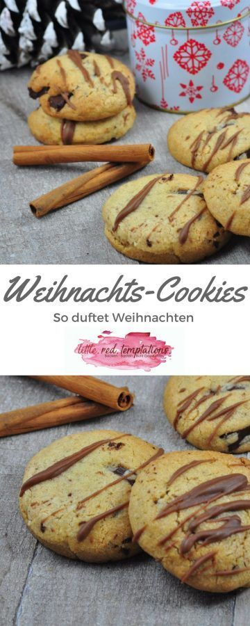 Weihnachts-Cookies - Zimtduft in der Luft - little. red. temptations. #quickcookies