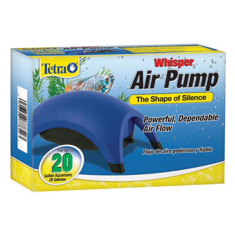 Tetra Whisper Aquarium Air Pump for 20 gallon Aquariums