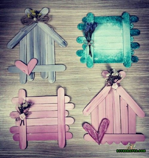 Photo of How to Make These Cute DIY Coasters Out of Popsicle Sticks
