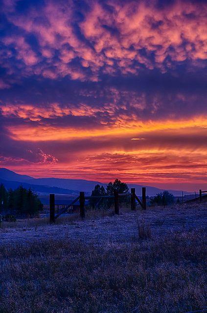 Sunset - Hell's Canyon, Idaho