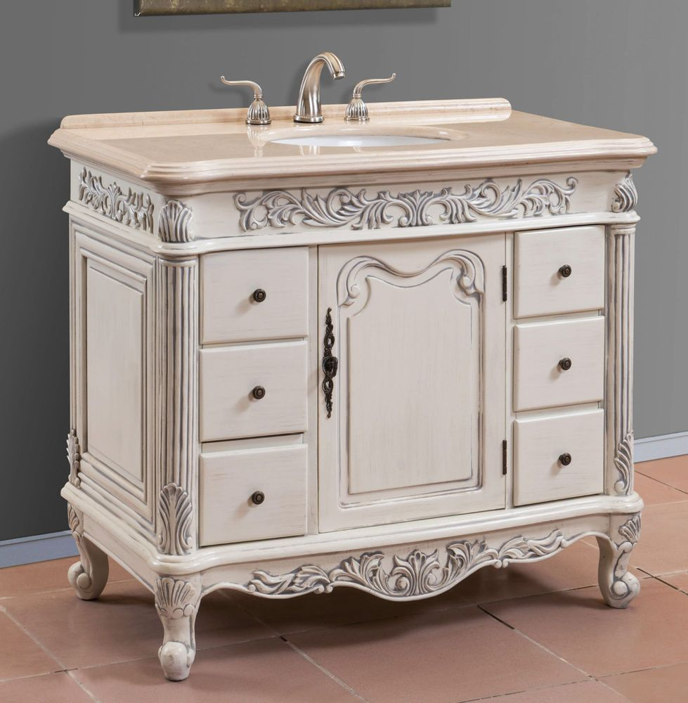 h w deep bathroom free top white porcelain drawers x shipping inch d vanity