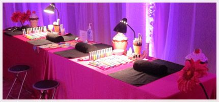 Spa Party Feel Fabulous Mobile Spa Spa Birthday Parties