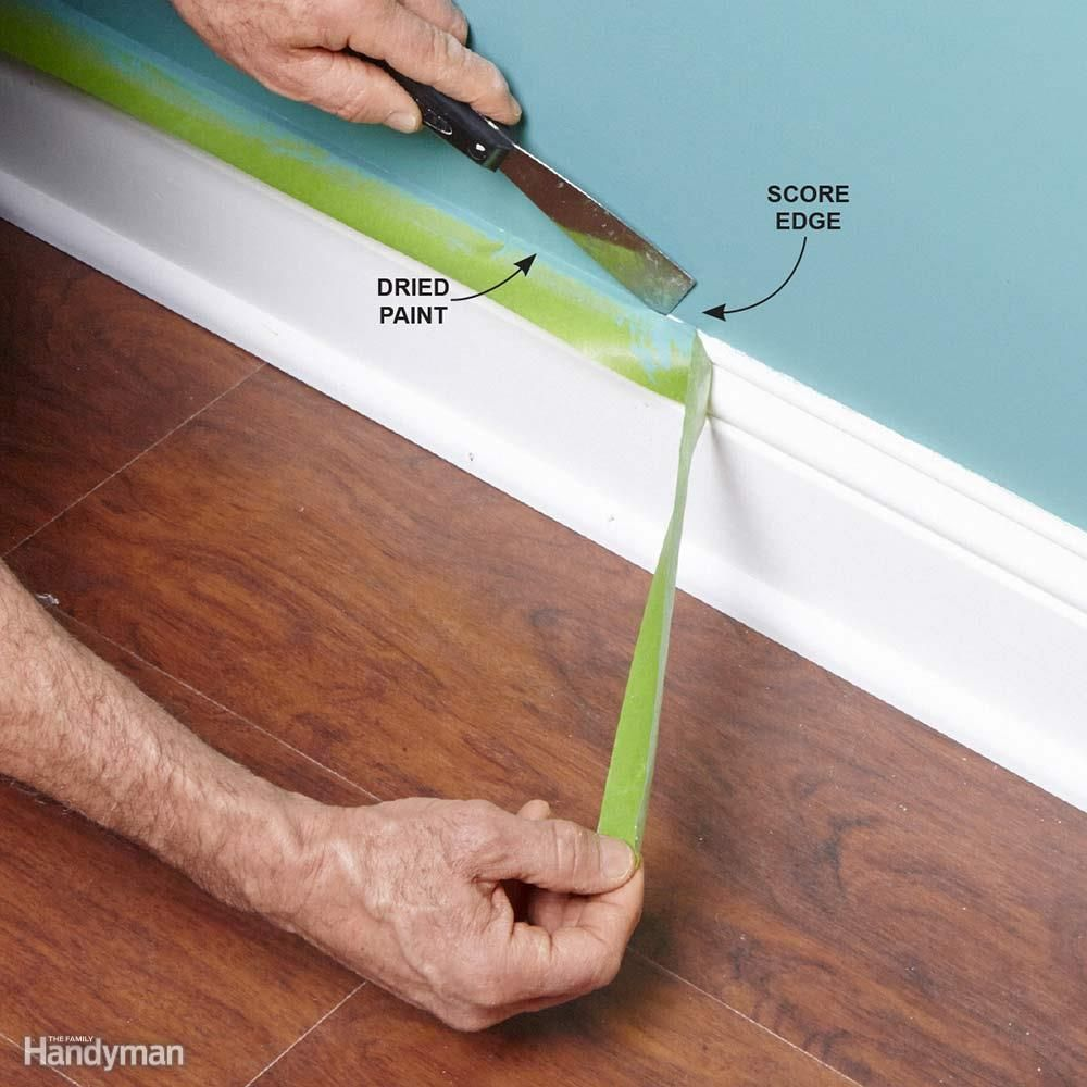 Tips For How To Use Painter S Tape Painters Tape Painting Tips Diy Home Repair