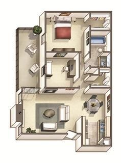 Floor Plans Of Woodcreek Apartments In Cary Nc Floor Plans Apartment Bedroom Apartment