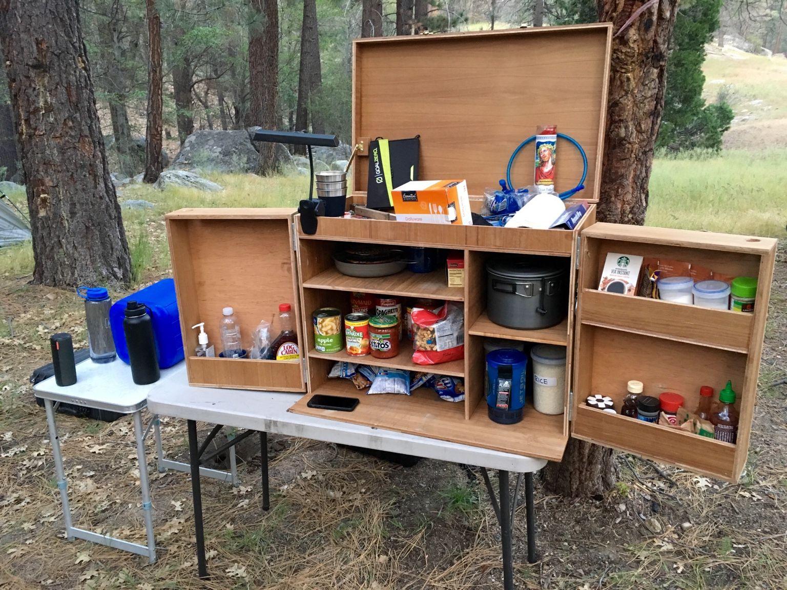 My Camp Kitchen Chuck Box  Camping  Chuck box Camping