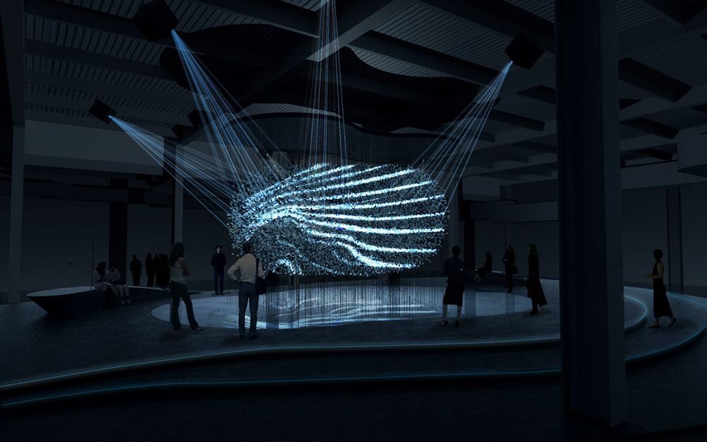 Fluidic - Sculpture in Motion by WHITEvoid #