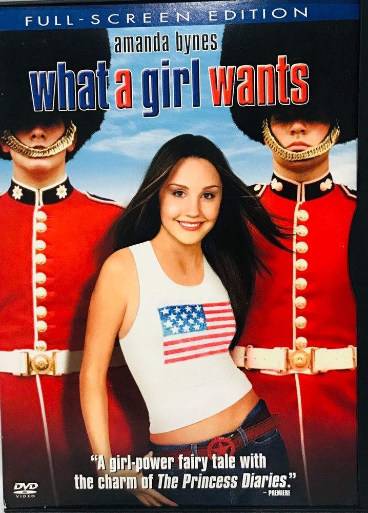 What a Girl Wants DVD (2003, Amanda Bynes What a girl