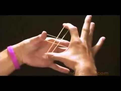 Crazy Rubber Band Trick Magic Tricks Easy Magic Tricks Magic Tricks Tutorial