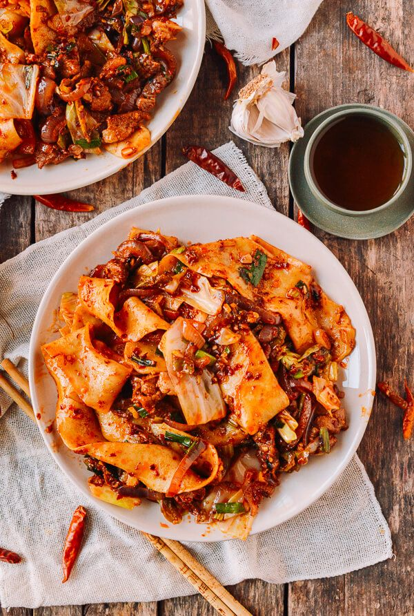 Spicy Cumin Lamb Biang Biang Noodles | Recipe | Cumin lamb ...