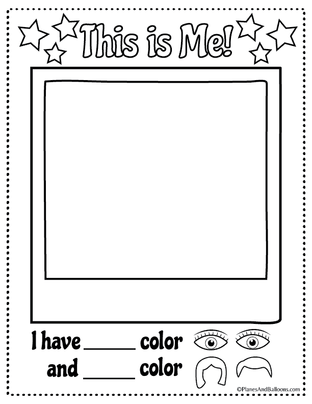 All About Me Worksheets All About Me Worksheet All About Me Preschool Theme All About Me Preschool