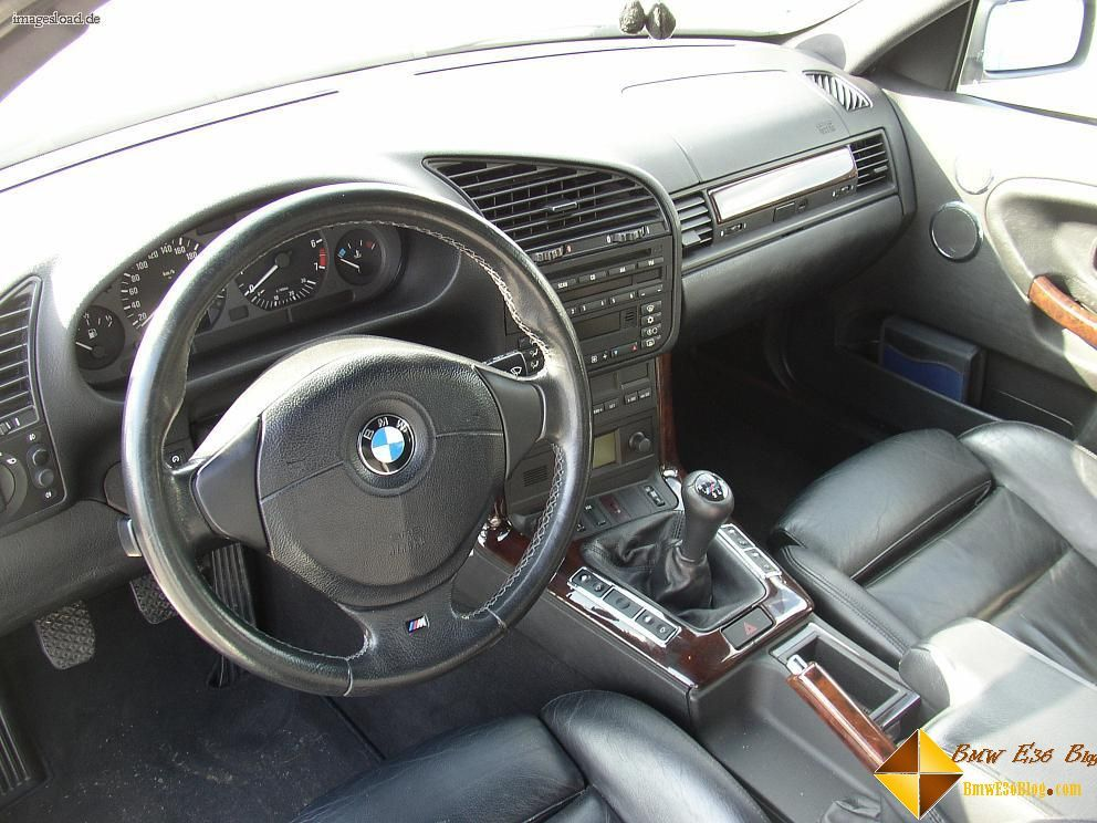 Bmw e36 interior m sport seats m tech 3 steering wheel for Interior bmw e36