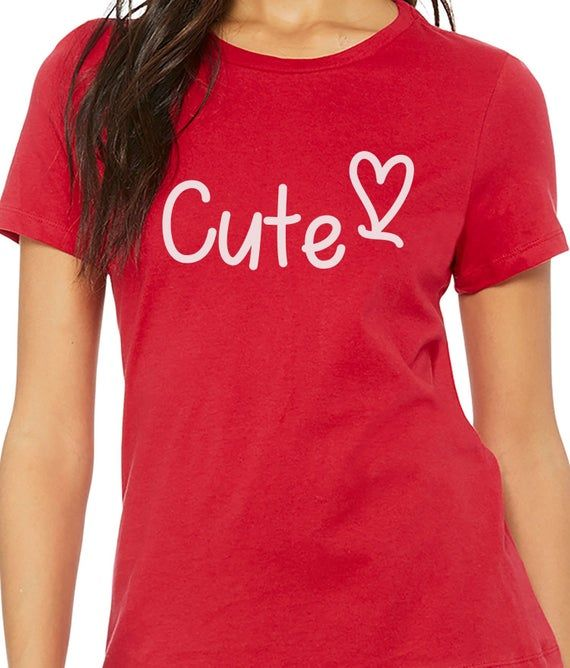 Valentine Gift | Cute Shirt - Valentines Day Gift | Funny Shirts Women - I love You Shirt Womens shirt Bride Gift - Anniversary Gift #1weihnachtstaglustig