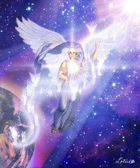 Mágico Y Celestial Luz Angelical Arte De ángel Imágenes De ángeles Seres Magicos