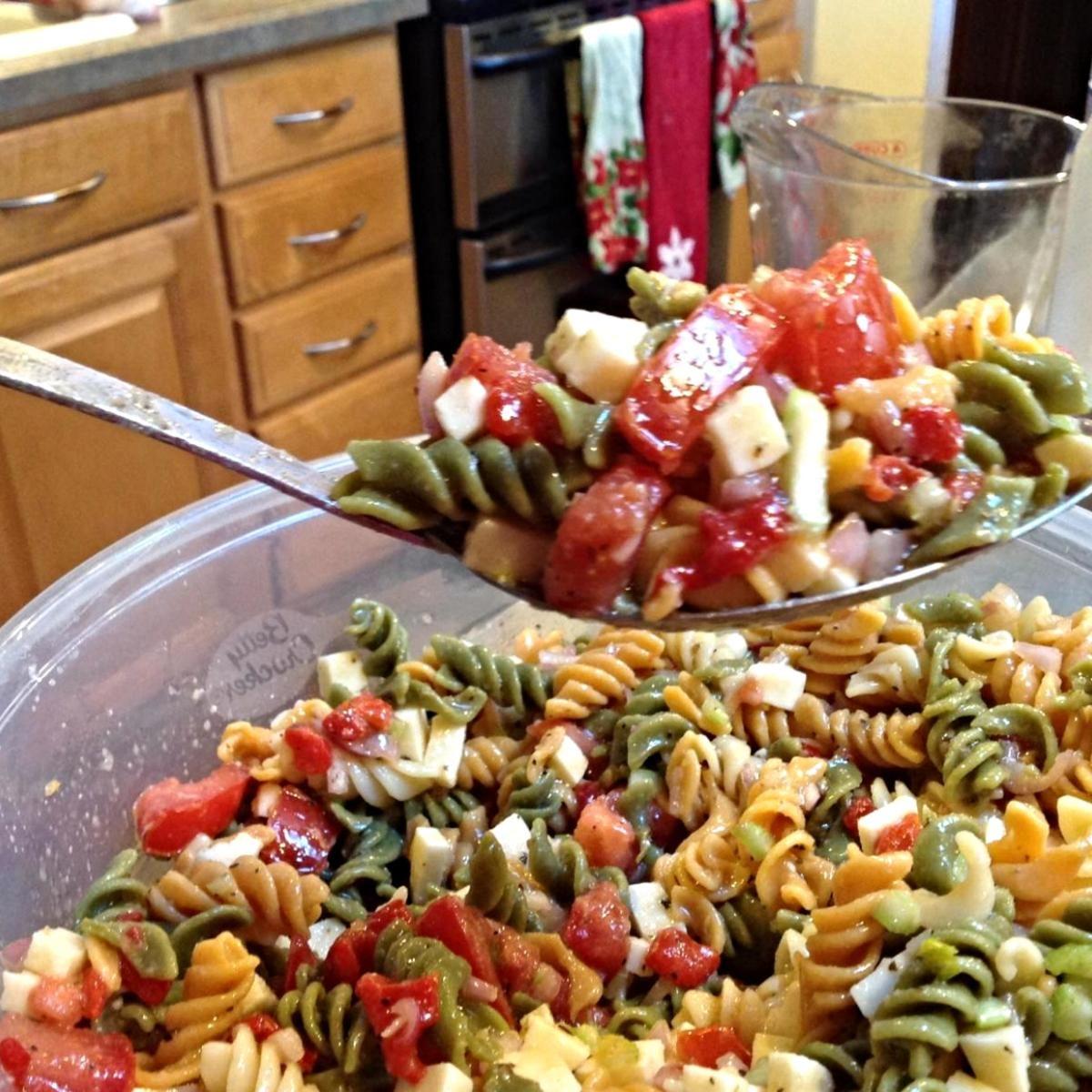 Garden Rotini Pasta Salad | Recipe | Pinterest | Pasta salad, Pasta ...
