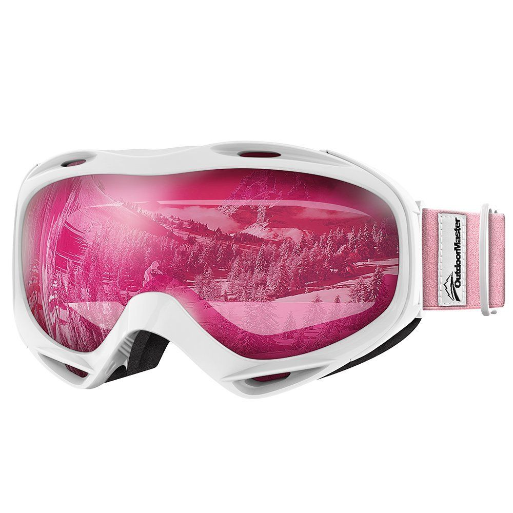 dd2e07cb73c4 AmazonSmile   OutdoorMaster OTG Ski Goggles - Over Glasses Ski   Snowboard Goggles  for Men
