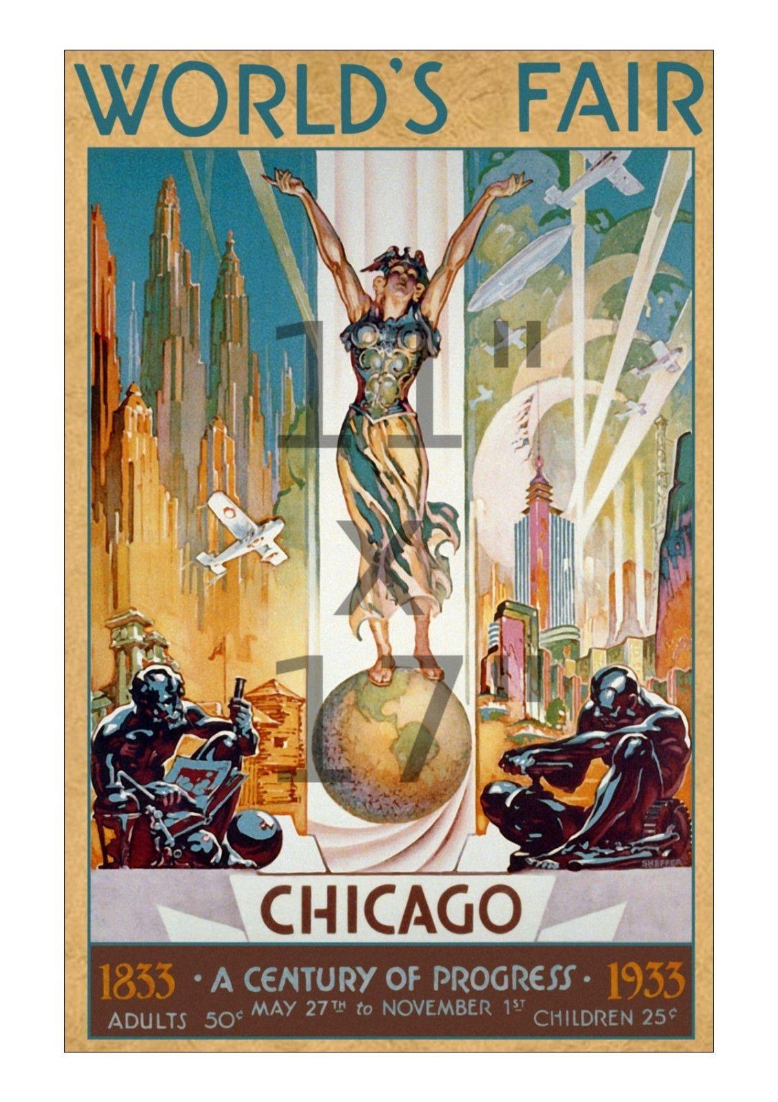 1933 Chicago World\'s Fair #1 - \