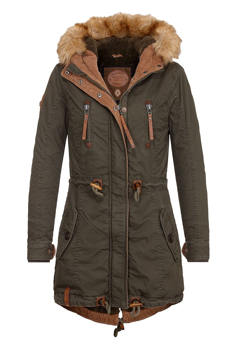 Naketano Habibi Blocksberg II W winter jacket olive