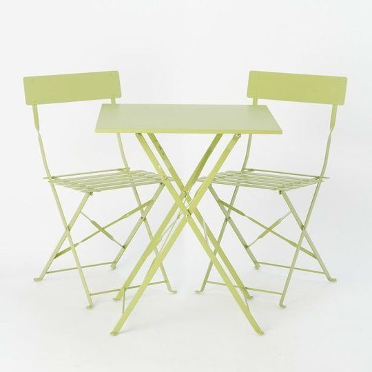 Terrain, shown here: Painted Metal Bistro Table, $98  |     Style on a Budget: 10 Sources for Good, Cheap Furniture