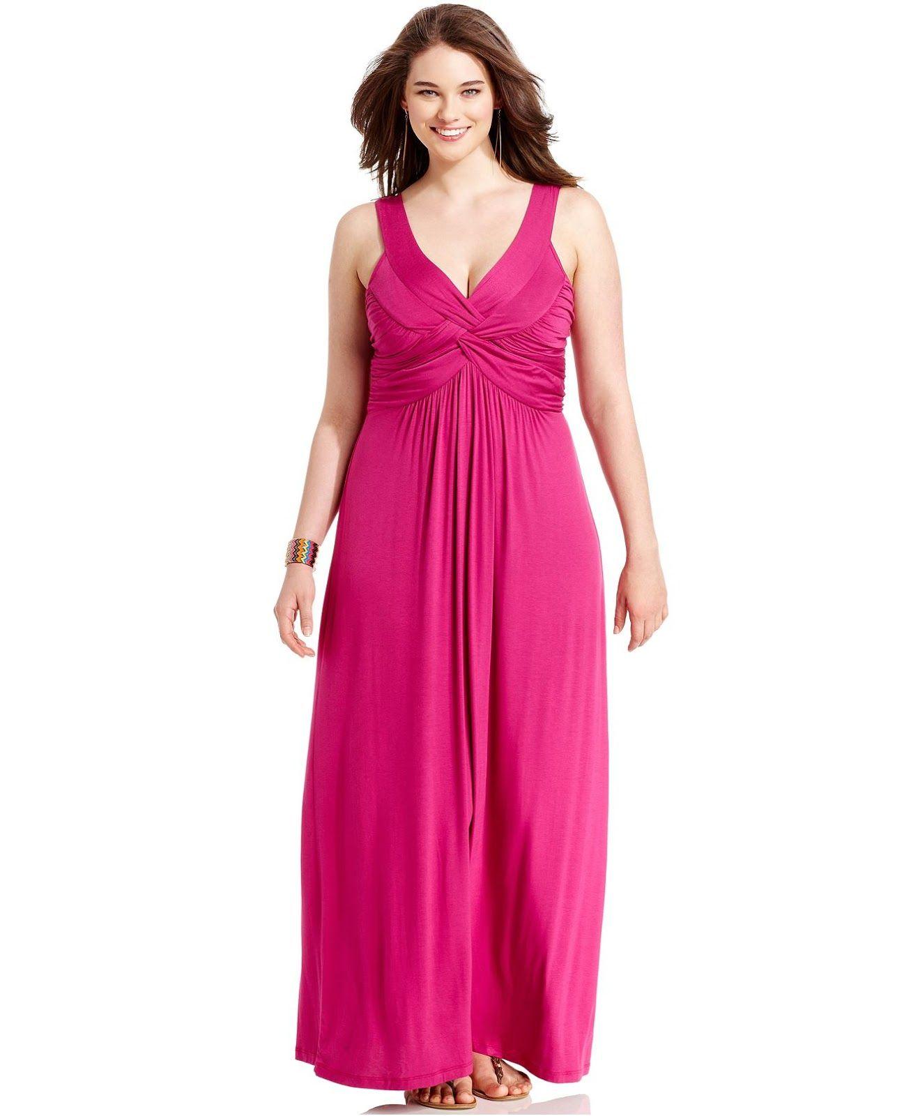 Fantásticos vestidos largos para gorditas | Vestidos para gorditas ...