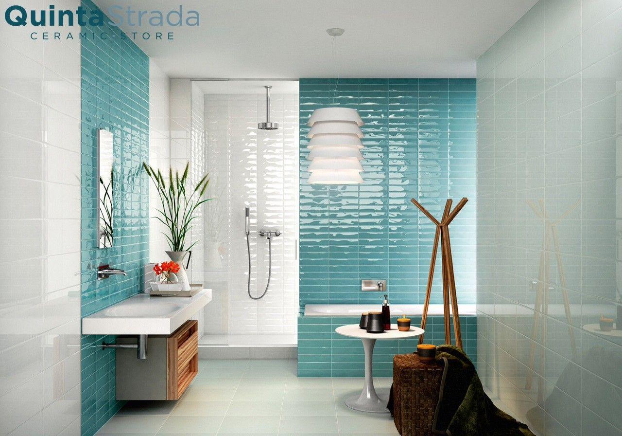 Piastrelle Bagno Turchese : Risultati immagini per bagno bianco e turchese home wall tiles