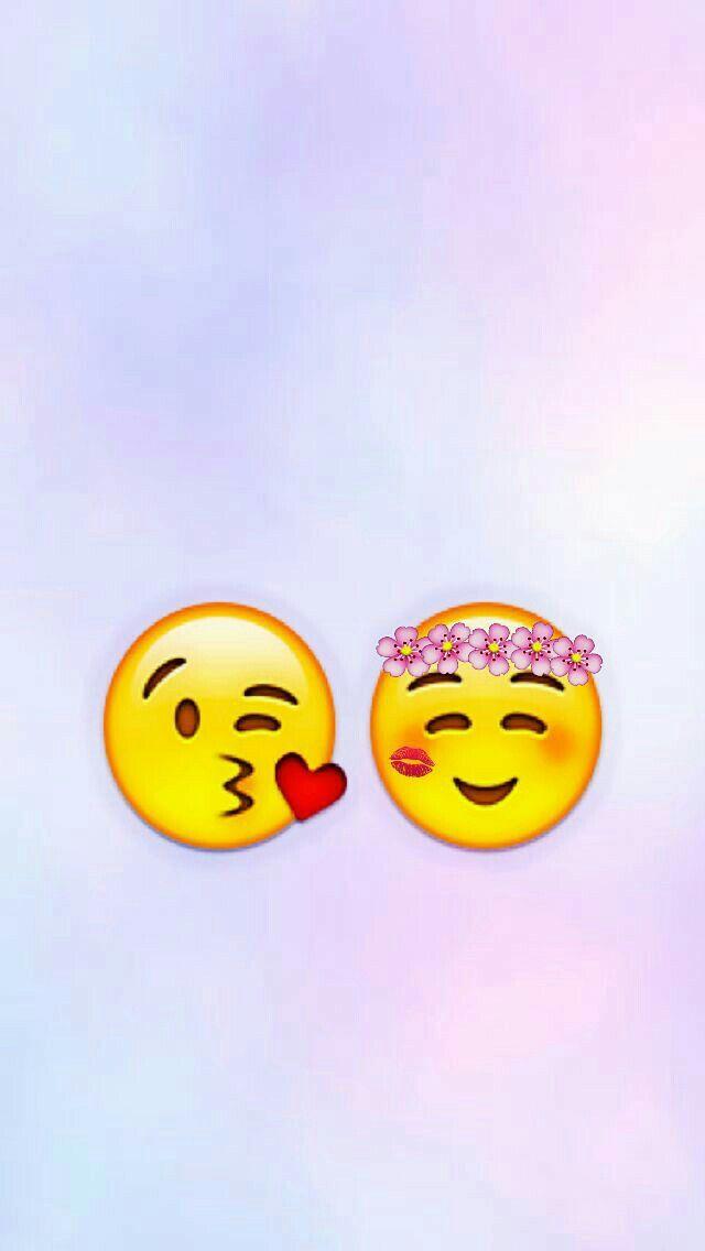 En 2020 Emoji Dessin Love Fond D Ecran Telephone