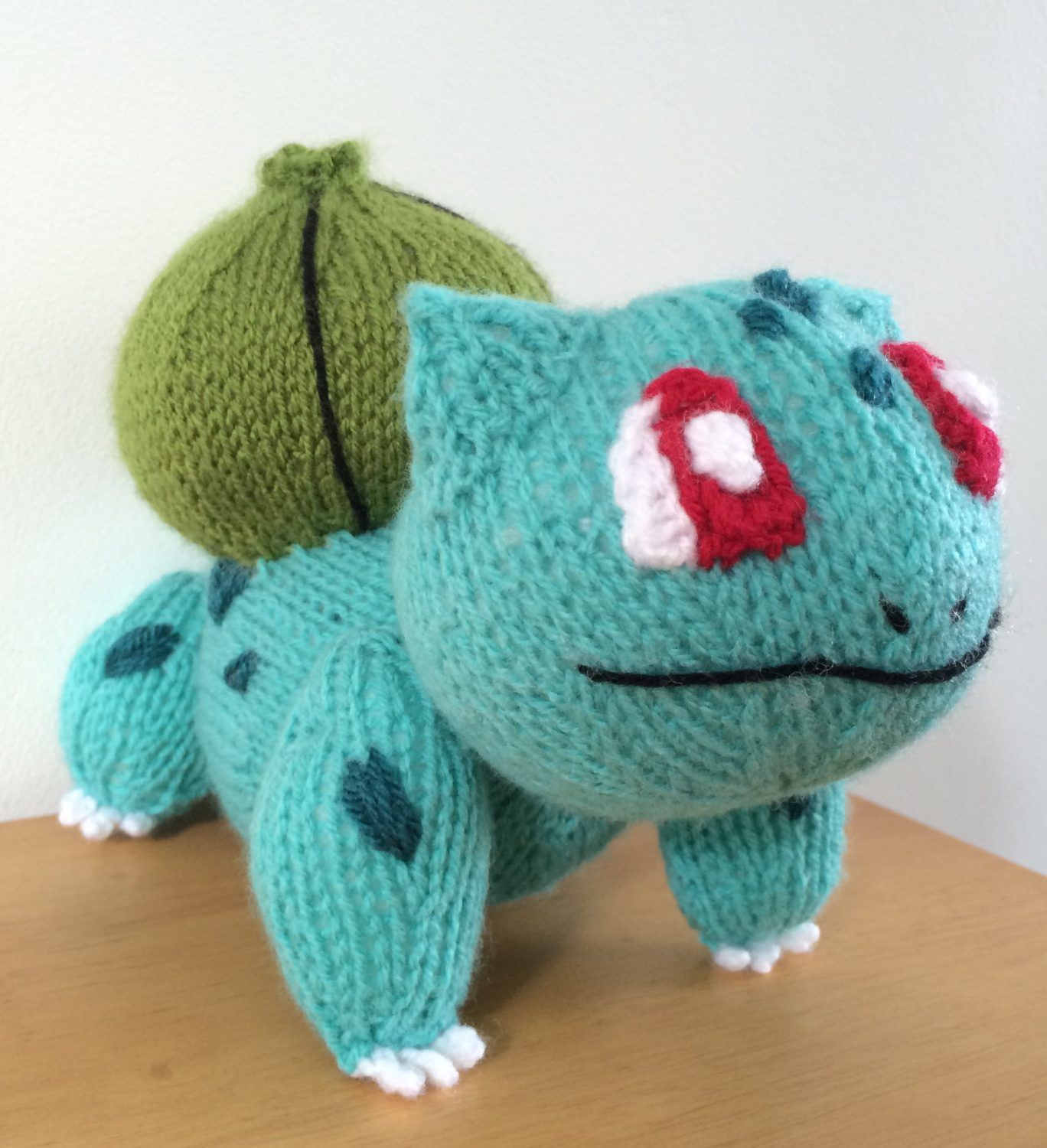 Gaming knitting patterns pokemon bulbasaur bulbasaur and gaming knitting patterns bankloansurffo Image collections
