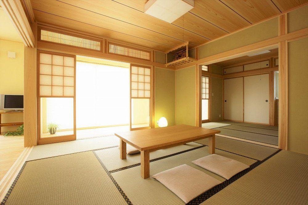 内装 真壁仕上げ 和室 モダン 和室 ベッド インテリア ベッド