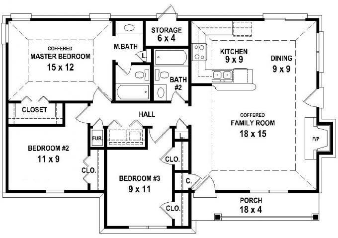 Bungalows floor plans home plans home design | Quik Houses Plans ...