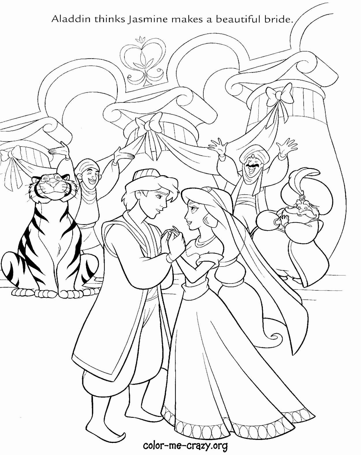Princess Wedding Coloring Pages – From the thousand photographs