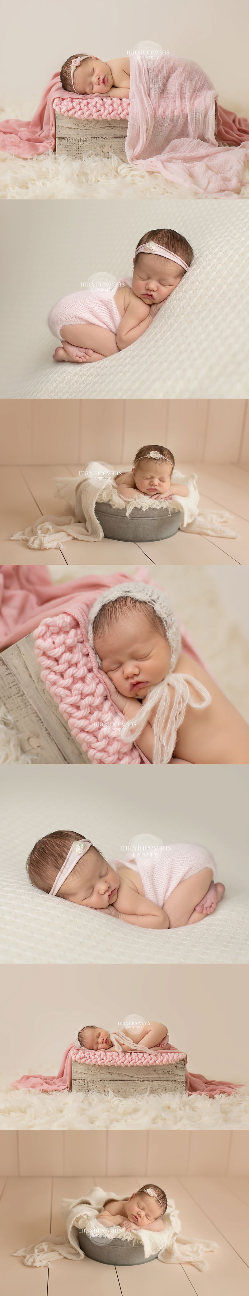 Gorgeous newborn baby girl los angeles newborn photographer