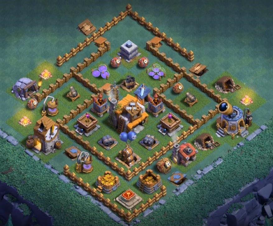 Best Th 5 Builder Base 9