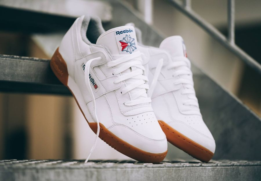 9bcf324e Reebok Classic Workout Plus R12 'White Gum' (homme femme) | Crop ...