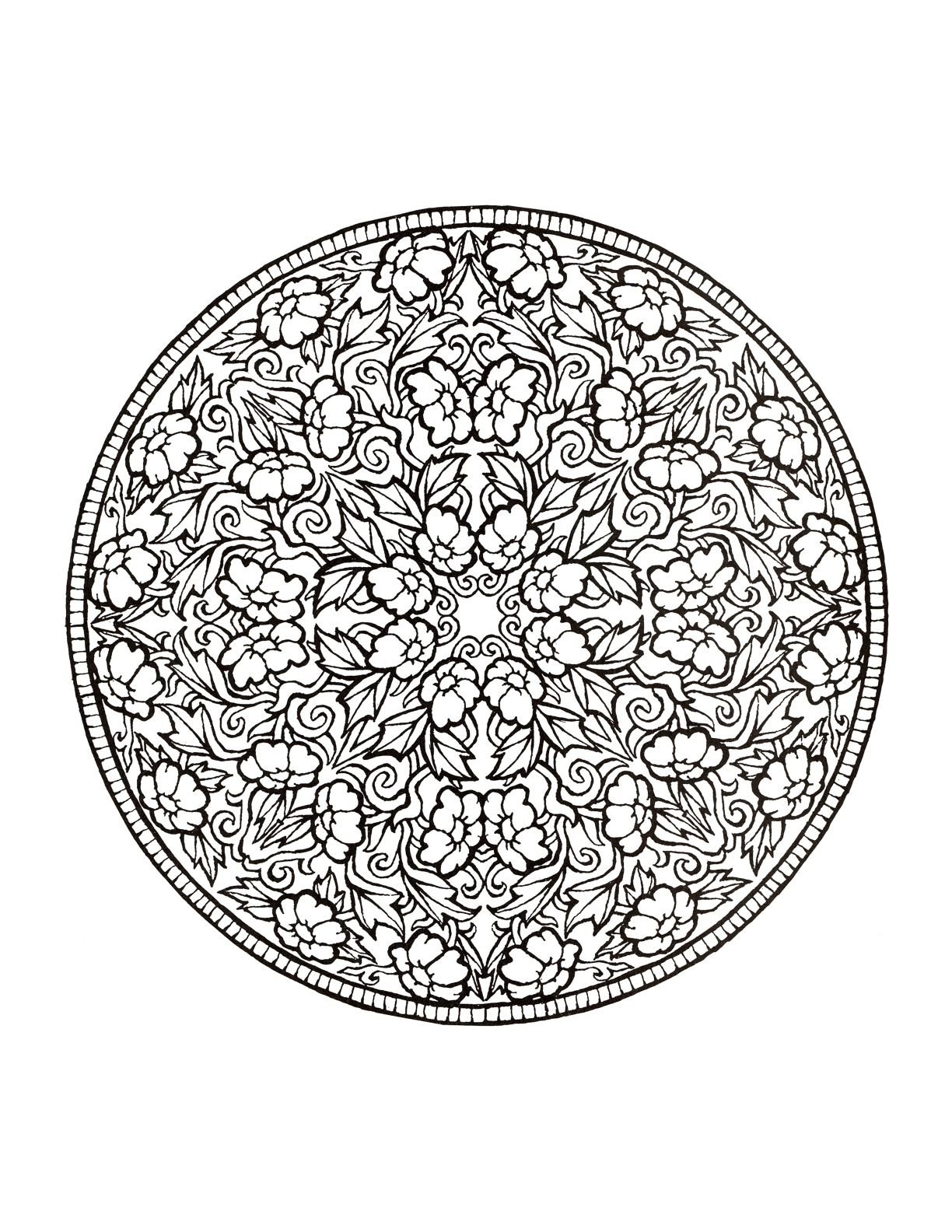 Mystical mandala coloring pages - Find This Pin And More On Color Me Beautiful Flowers Mystical Mandala Coloring Pages