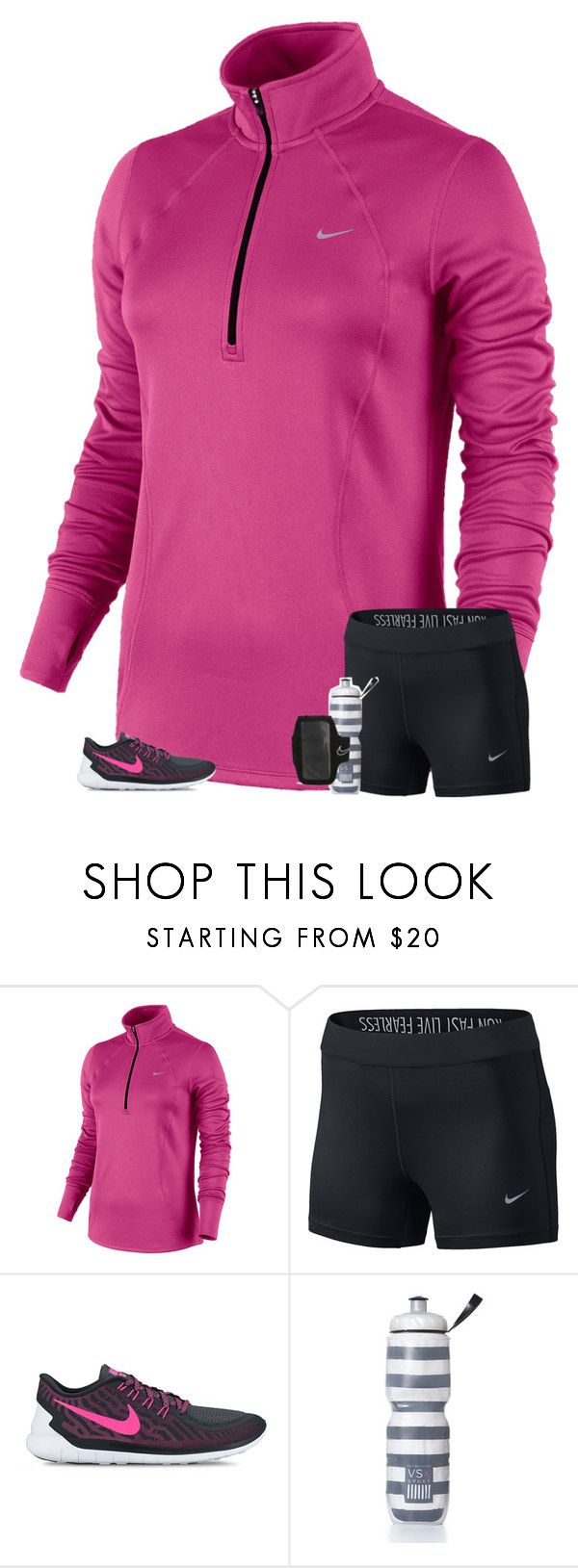 """""""soccer practice tonight"""" by secfashion13 ❤ liked on Polyvore featuring NIKE and Victoria's Secret"""