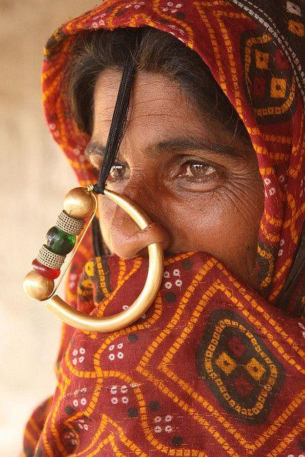 De Jat Een Vrouw Uit Deze Verborgen Stam In India